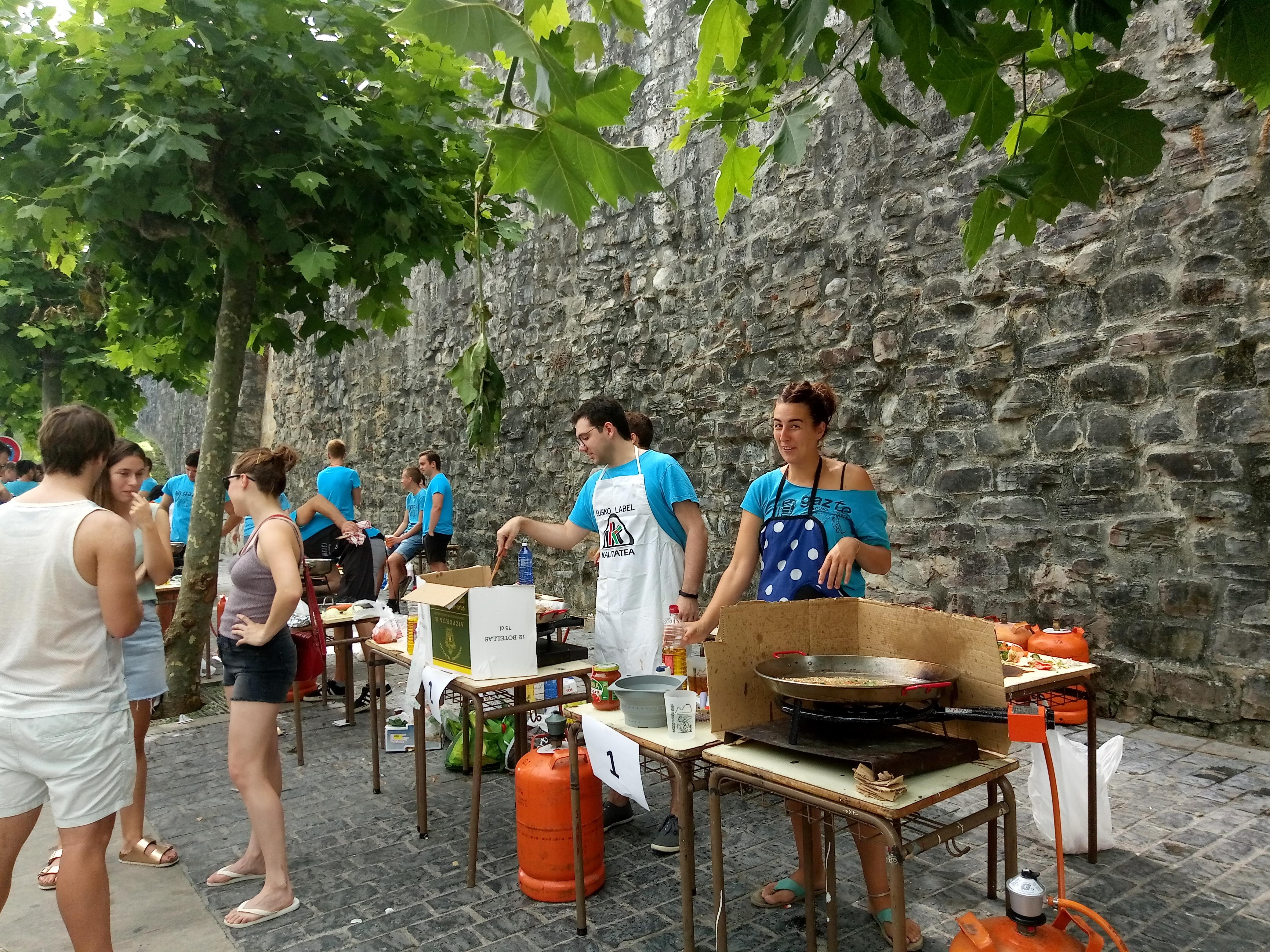 Salbatore Jaiak 2018 - Paella lehiaketa