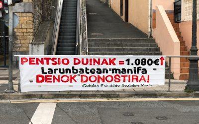 Pentsio  Duinen  alde,  Donostira!
