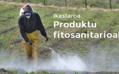 Produktu  fitosanitarioen  ikastaroa  eskainiko  dute  Udal  Elkartean
