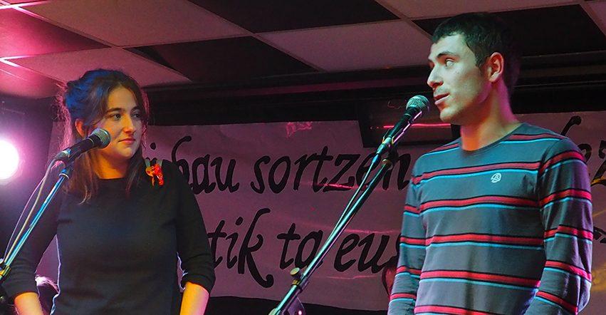 Euskara eguneko Gaztetxeko Bertso Afaria