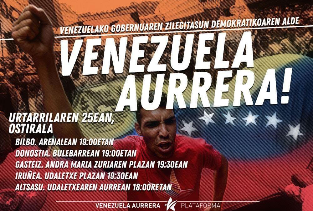 Pa'lante  Venezuela!