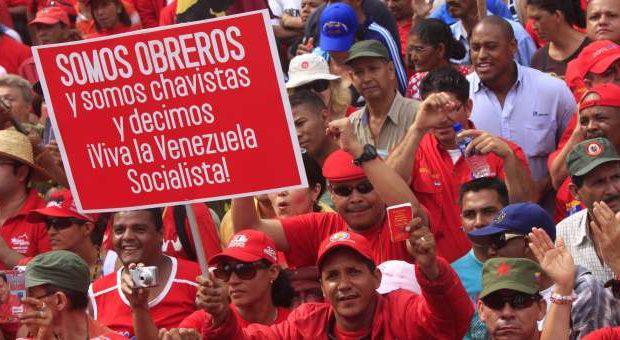 Hitzaldia  Venezuelaz