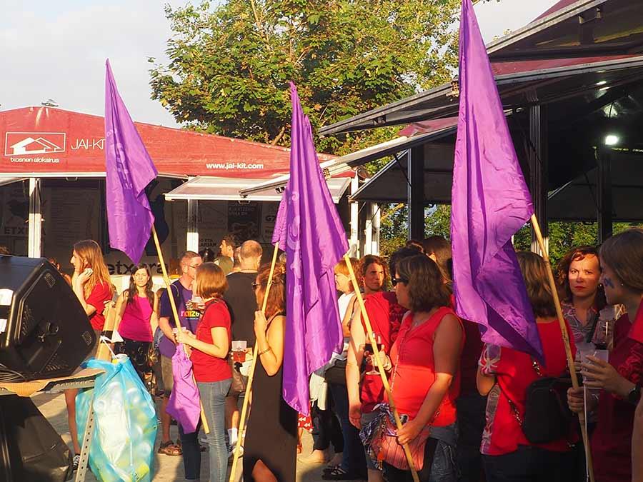 Salbatore Jaiak - Brindis feminista 2019