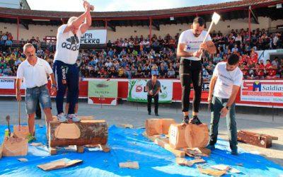 Joseba  Otaegi  II.  Euskal  Pentatloi  Txapelketako  finalista