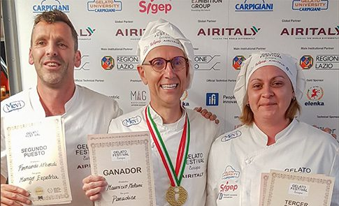 Dona  Doniko  Fernando  Alberdi  bigarrena  izan  da  Bartzelonako  Gelato  World  Tour
