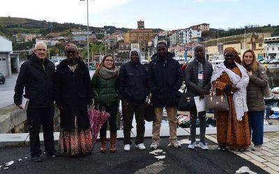 Getaria  bisitatzen  izan  dira  Senegalgo  arrantza  sektoreko  hainbat  emakume