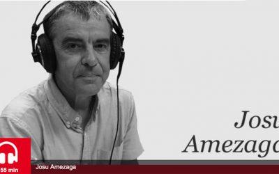 """""""Euskaldunen zaintza"""" egiten dutenak zoriondu ditu Josu Amezagak"""