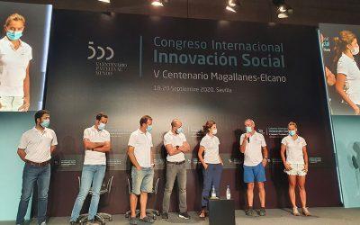 Magallanes-Elkano Espedizioko kideek euren esperientzia aurkeztu dute Sevillan