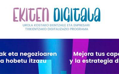 Ekintzaileei eta enpresa txikiei negozioa digitalizatzen lagunduko die Urola Kostako Udal Elkarteak