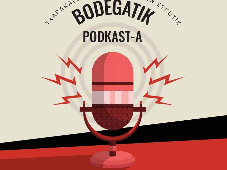"""""""Bodegatik"""", Txapakalezkako sortzaileen podkast berria"""