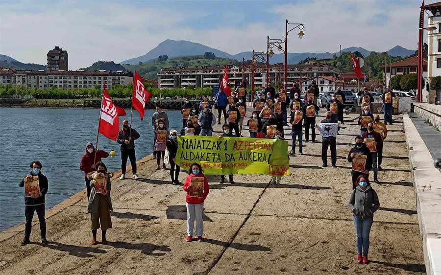 LAB sindikatuak deituta mobilizazioak izango dira bihar Getarian