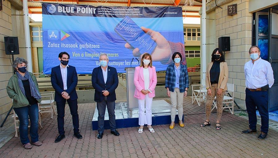 Blue Point Itsas Kutsadura eta Ekonomia Urdineko Inteligentzia Zentroak ateak ireki ditu Getarian