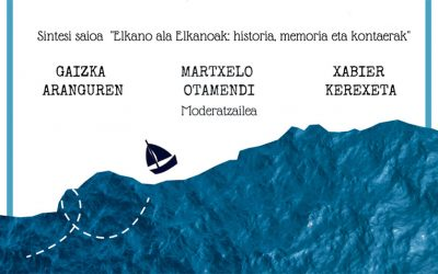 """Gaur egingo da """"Elkano ala Elkanoak: historia, memoria eta kontaerak"""" zikloko azken hitzaldia"""